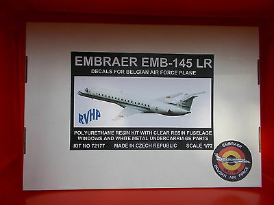 Embraer EMB-145 LR - RVHP - Belgian Air Force 15ième Wing - résine - scale 1/72
