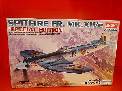 Belgian AIR FORCE  Spitfire FR.MK.XIVe  special edition   1/48