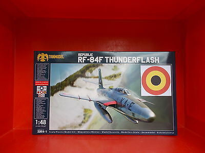 BELGIAN AIR FORCE Republic RF-84F THUNDERFLASH   1/48