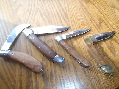 Pocket Knives Mixed Lot