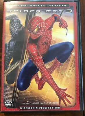 Spider-Man 3 2-Disc Special Edition Widescreen Presentation