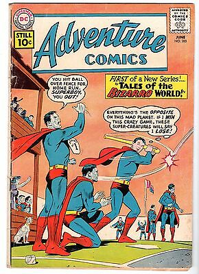 Adventure Comics #285 - First Tales of Bizarro World, VG-Fine Condition