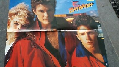 erika eleniak   poster 4 pages  ou david hasselhoff, new kids on the block