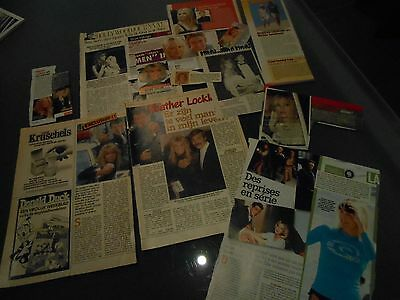william shatner clippings , hooker , heather locklear