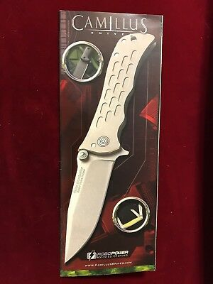 Camillus Cutlery Fold Out Knife Sales Brochure