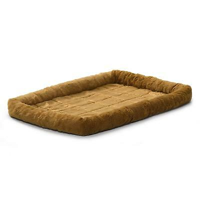 MidWest Deluxe Bolster Pet Bed for Dogs & Cats 48L