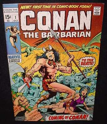 Conan The Barbarian Marvel Comics   Comic # 1 Number One Very   High Grade