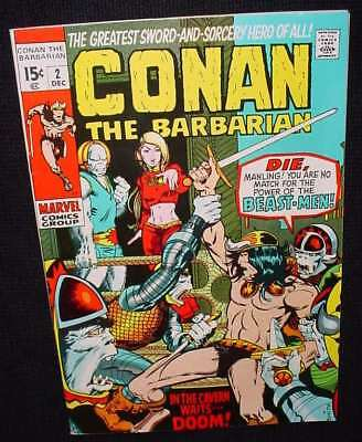 Conan The Barbarian Marvel Comics   Comic # 2  Number Two  Very   High Grade
