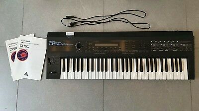 Roland D-50 Digital LAS SYNTHESIZER + ca. 1000 Sounds + Software + ROM Card