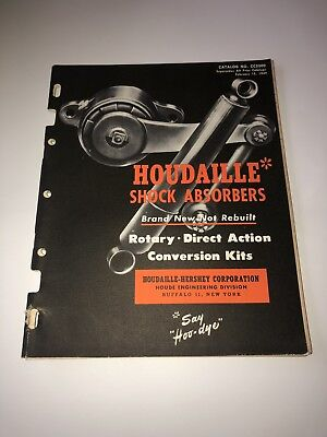 1949 Vintage Houdaille Hershey Shocks Automotive Car Catalog Manual Guide