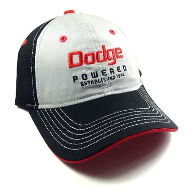 Dodge Cap Powered Since 1914 Licensed Cap Kappe One Size Snapback
