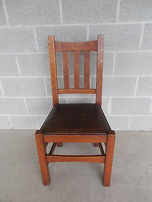 Stickley Brothers Quaint  Mission Oak Arts & Crafts Chair