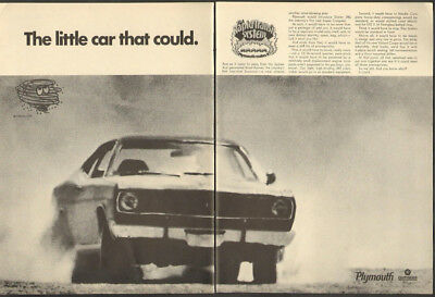 1970 Plymouth ad Super Compact Duster 340