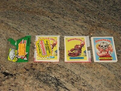 Ultra-RARE 4th Series Garbage Pail Kids Variation Rack Pack, New, Unopened