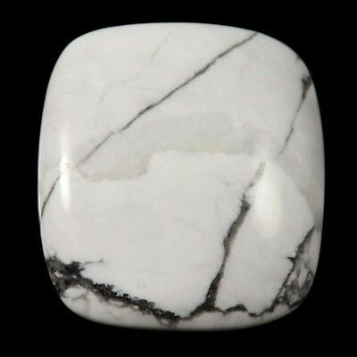 64.80 cts Natural Top Designer Untreated Howlite Gemstone Octagon Loose Cabochon