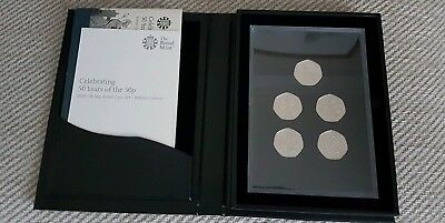 Royal Mint Celebrating 50p Uncirculated Set 2019 Kew Gardens Ltd Edition 3500