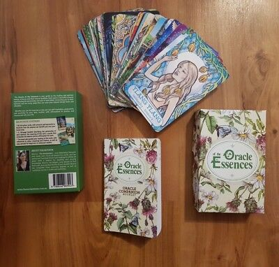 Oracle cards, Oracle of the Essences, Aromatherapy Cards, Essential Oil Cards