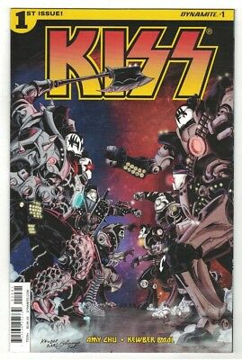 Kiss #1-3 Run - Nick Bradshaw Covers - Dynamite Entertainment/2016