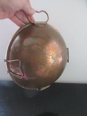 Rare Ancien Moule Cuisine En Cuivre Vintage French Copper Kitchen Mold
