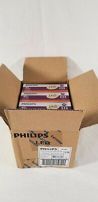Four 3-pack Philips 40W Equivalent Soft White B11/E12 Candelabra Base LED Bulb