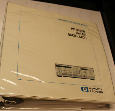 Agilent HP8350B Operation and Service Manual