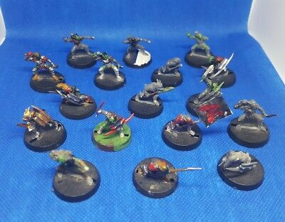 Games workshop - lord of the rings - hobbit - moria goblins x 17 (c115)