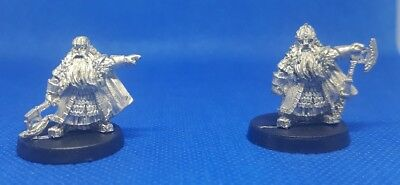 Games workshop - lord of the rings - dwarf lords Dain and Balin (c75)