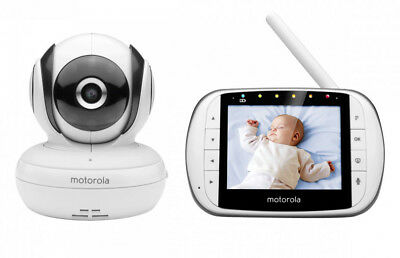 "Motorola MBP36S 3.5"" Video Baby / Child / Kids Safety Monitor L@@k"