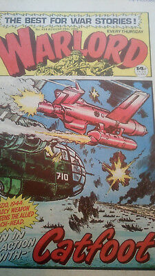 26 No Vintage Used Warlord Comics July - Dec 1982