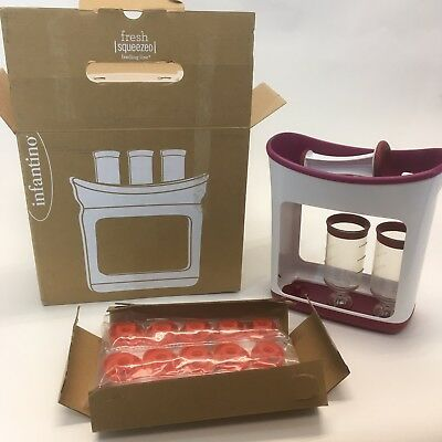 Infantino Fresh Squeezed Squeeze Station Baby Food Maker missing piece used
