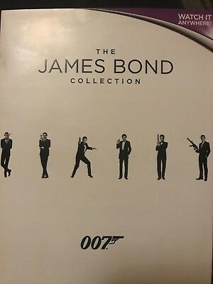 James Bond Collection 007 Uv Digital Download Code Hd 23 Films ***watch Today***