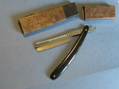 OLD STRAIGHT RAZOR - COUPE CHOUX WEDGE 5/8 - 69 Thiers Issard - SHAVE READY