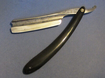 Old Straight Razor - Jolie Coupe Choux Anglais Nowill & Sons - 6/8 - Shave Ready