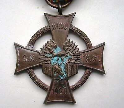 LIthuania 1920 occupation medal