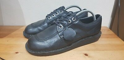 Mens Black Kickers Lo UK size 9