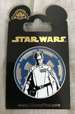 Orson Krennic Star Wars Rogue One Galactic Republic Symbol Disney Pin, brand new