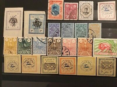 old stamps PERSIA