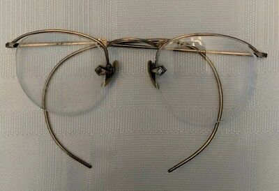 Vintage Goldtone Eye Glasses Frame