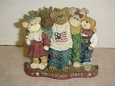 Boyds Bears&Friends JB Bearyproud and Pals #227812 The Bearstone Collection 2003