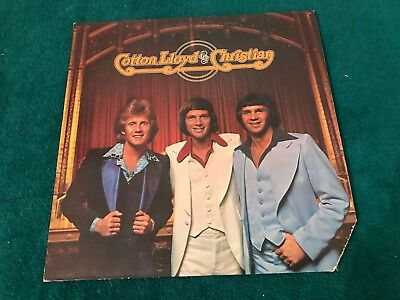 Cotton Lloyd & and Christian s/t self-titled 1975 LP Darryl Michael Chris POP