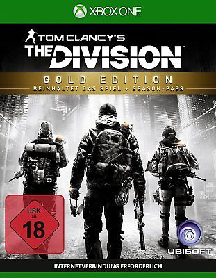 Tom Clancy's The Division - Gold Edition (inkl. Season Pass) [XBOX ONE] [DE] NEU