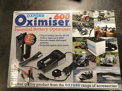 Oxford Oximiser 600 motorbike Battery Charger