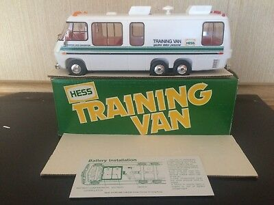 1980 Hess Toy Truck Training Van In Excellent Preowned Condition