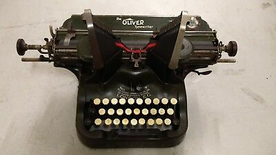 Oliver N7 Antique Typewriter-Wide Carriage, Schreibmaschine