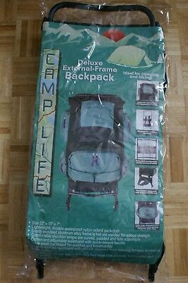 Deluxe External-Frame Backpack by CampLife