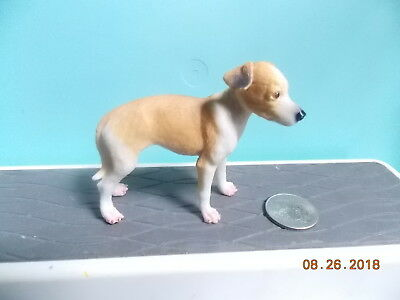 Whippet Puppy Figure