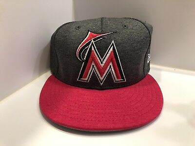 huge selection of 78d53 8a5fe Miami Marlins Mothers Day Pink Hat Size 7 3 4 New Era 5950 Onfield Cap