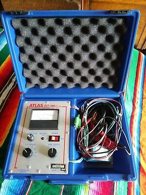 Atlas EIT386 Electronic Ignition Tester NOS? Awesome Condition With Adaptors HTF