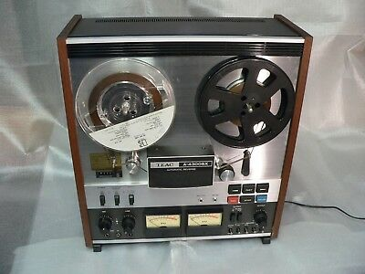 Teac A-4300SX reel to reel tape recorder with tapes