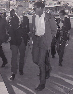 BLACK POWER & PANTHER STOKELY CARMICHAEL * Rare VINTAGE 1966 CIVIL RIGHTS photo